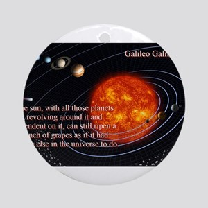 The Sun With All Those Planets - Galileo Galilei R