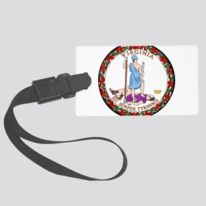 Great Seal of Virginia Large Luggage Tag