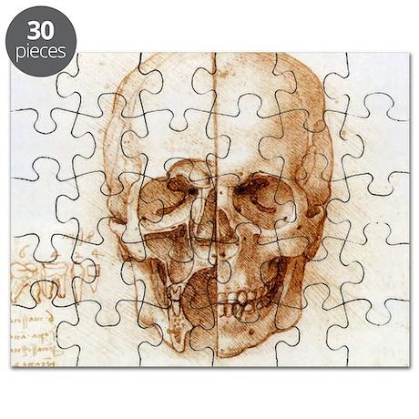 Skull anatomy by Leonardo da Vinci - Puzzle
