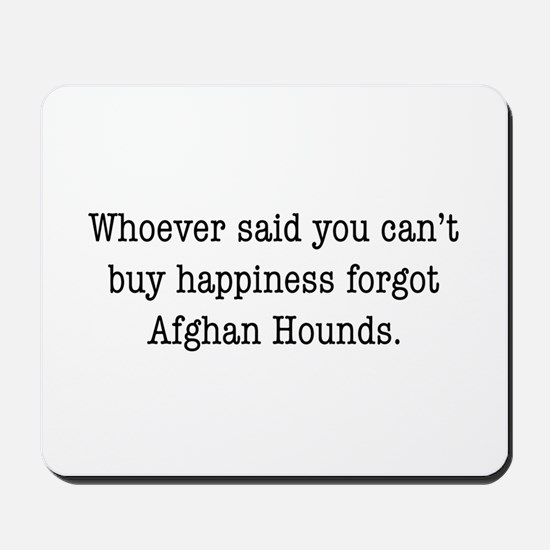 Afghan Happiness Mousepad