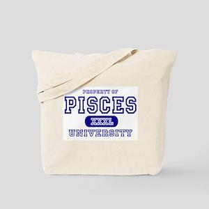 Pisces University Property Tote Bag