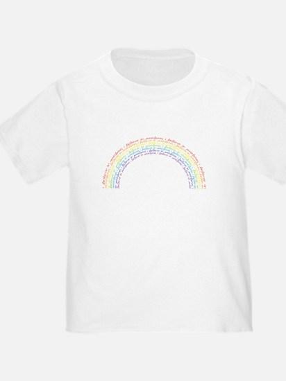 I Believe In Rainbows T