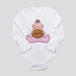 Lil Football Baby Girl Body Suit