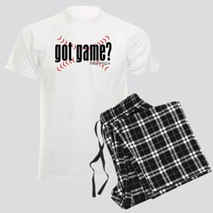 Fastpitch Got Game Men's Light Pajamas