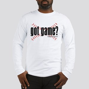 Fastpitch Got Game Long Sleeve T-Shirt