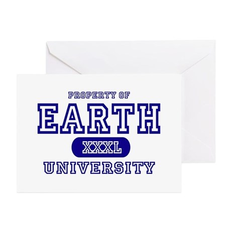 Earth University Property Greeting Cards (Package