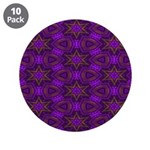 Purple and gold Stars Shower Curtain 3.5