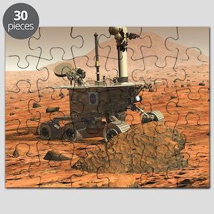 Mars Spirit rover - Puzzle