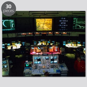 Mission Control at JPL, Pasadena, California - Puz