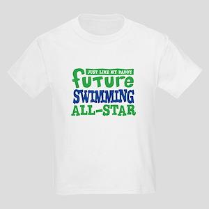 Future Swimming All Star Boy Kids Light T-Shirt