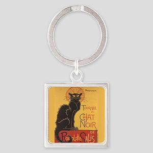 Steinlen Cat Square Keychain