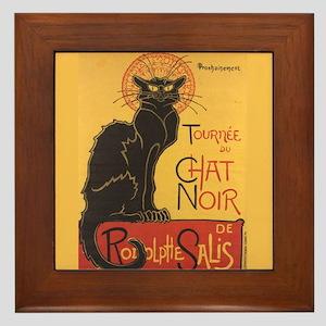 Steinlen Cat Framed Tile
