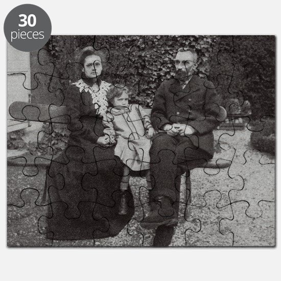 Marie and Pierre Curie, French physicists - Puzzle