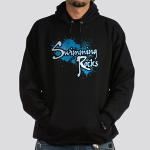 Swimming Rocks Splatter Hoodie (dark)