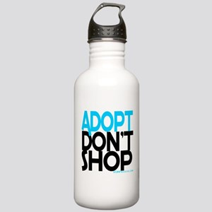 Adopt Dont Shop Stainless Water Bottle 1.0L
