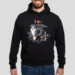 Miniature American Shepherd Hoodie (dark)