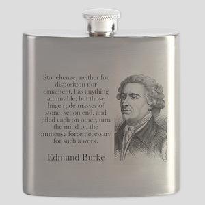 Stonehenge - Edmund Burke Flask