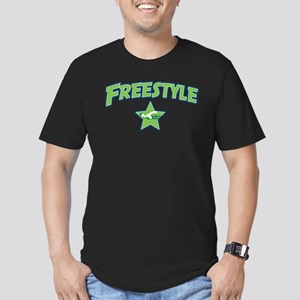 Swimming Freestyle Men's Fitted T-Shirt (dark)