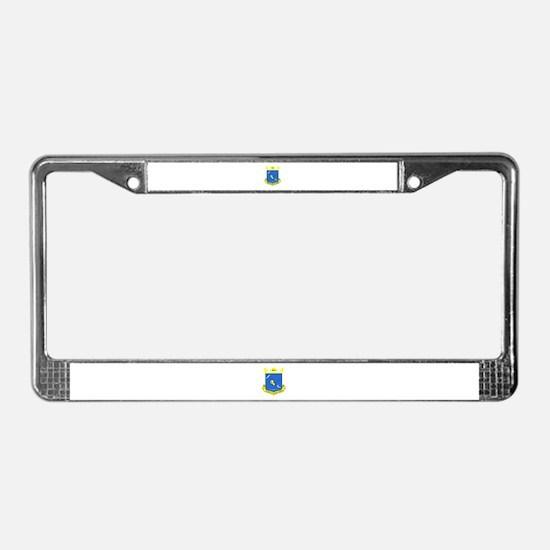 Cute Tumbling License Plate Frame