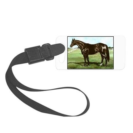 """Thoroughbred """"Bold Ruler"""" Small Luggage Tag"""