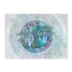 Cool Celtic Dragonfly 5'x7'Area Rug