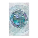 Cool Celtic Dragonfly 3'x5' Area Rug