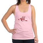 Ali name Racerback Tank Top