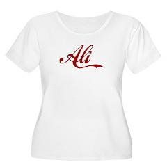 Ali name T-Shirt