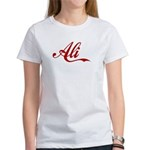 Ali name Women's T-Shirt