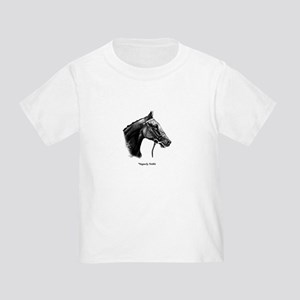 """Thoroughbred """"Vaguely Noble"""" Toddler T-Shirt"""