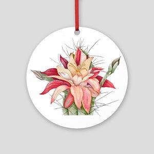 cactus flower Ornament (Round)