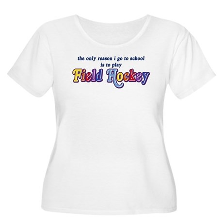 Field Hockey Go To School Women's Plus Size Scoop