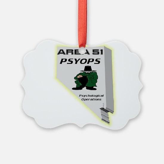 Area 51 Psyops Ornament