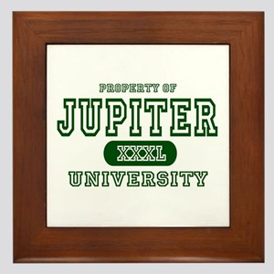 Jupiter University Property Framed Tile