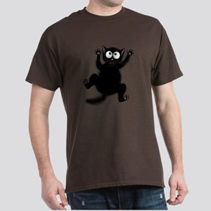 Funny Cat Cool Cartoon Cute Space Cat T-Shirt