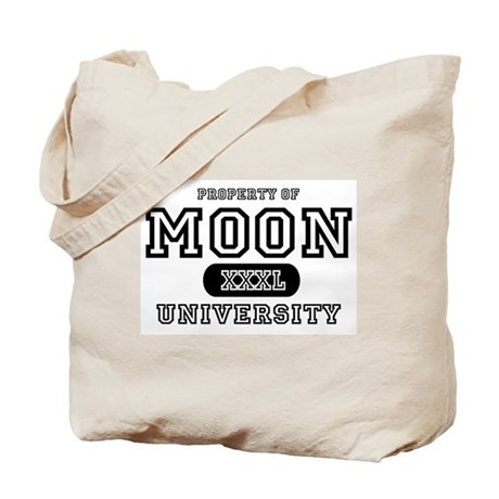 Moon University Property Tote Bag