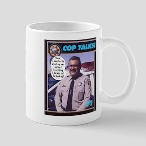 Cop Talks! Mug