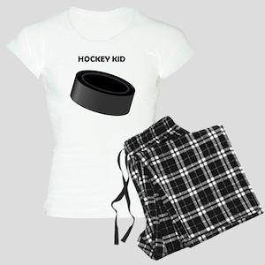 Hockey Kid Women's Light Pajamas