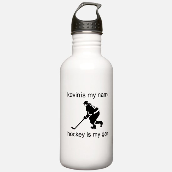 Hockey Is My Game Sports Water Bottle