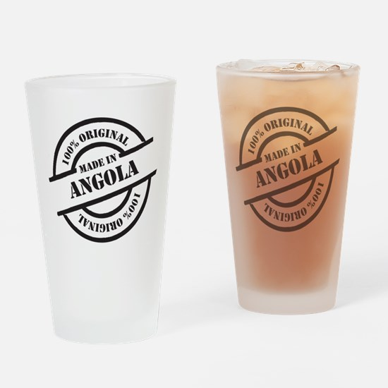 Made in Angola Drinking Glass