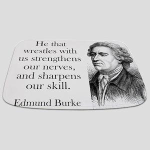 He That Wrestles With Us - Edmund Burke Bathmat