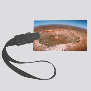 Aerial view of Meteor Crater, Arizona - Large Lugg
