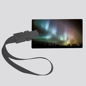 Aurora borealis - Large Luggage Tag