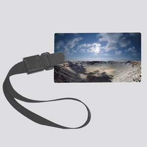 Barringer Crater - Large Luggage Tag
