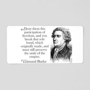 Deny Them This Participation - Edmund Burke Alumin