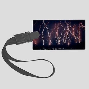 Lightning near Barstow, California - Large Luggage