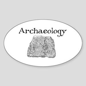 ARTIFACT Oval Sticker