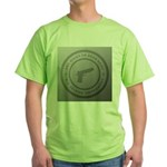 The Right To Bear Arms Green T-Shirt