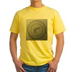 The Right To Bear Arms Yellow T-Shirt