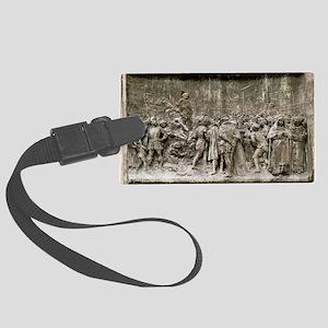 Giordano Bruno's execution - Large Luggage Tag